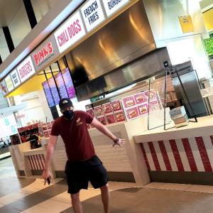 Beach + Pinks Hotdog + The Habit Burger