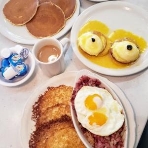 至福のアメリカンブレックファーストThe Original Pancake House♡