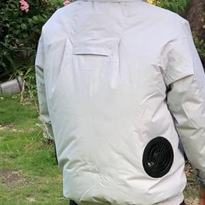 空調服とシマトネリコの植え替え