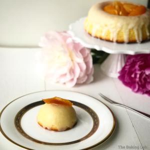 orange blossom glazed cake