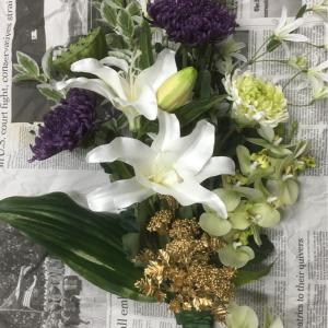 仏花のオーダーをありがとうございます