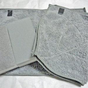 ふわふわのマイクロファイバーの雑巾