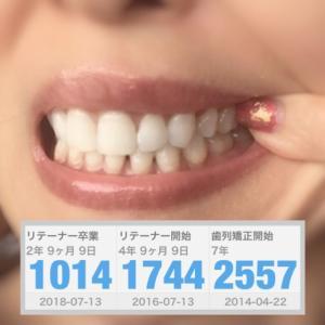 歯列矯正はじめて7年目!