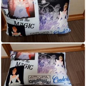 しまむら購入品 シンデレラ柄の枕