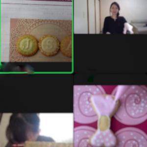 オンラインアイシングクッキー認定講座も大人気です☆