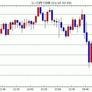 [予想]ユーロについて考える(今日これからのユーロ円見通し・テクニカル/掲示板情報他)