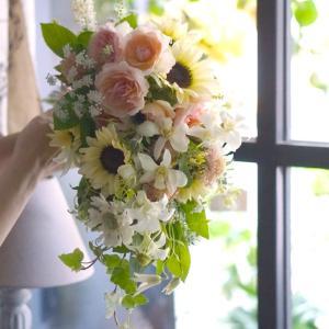 summer dress bouquet