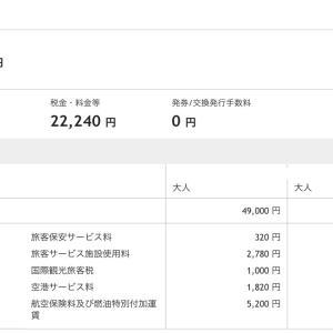 台湾旅行計画(費用編)