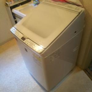 洗濯機壊れる!! まさかのタイミング・・