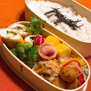 今日のお弁当 ラディッシュの飾り切りは難しい&手羽先の柚子胡椒焼き〜☆
