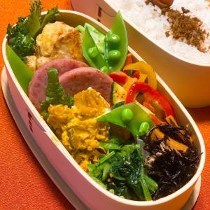 今日のお弁当 お野菜処分〜☆