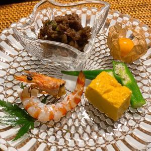 美味しいおつまみと美味しい日本酒で〜☆
