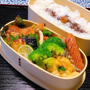 今日のお弁当&週末ごはん〜☆