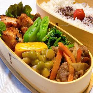 今日のお弁当&焼き筍〜☆