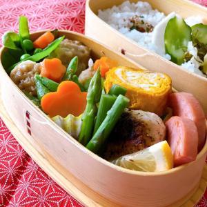 今日のお弁当&昨日のマッシュルームは〜☆