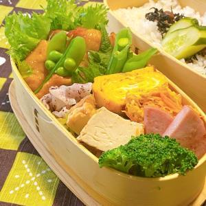 今日のお弁当&冷やし中華始めました〜☆