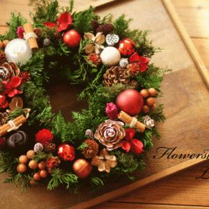 クリスマスリースレッスン♪