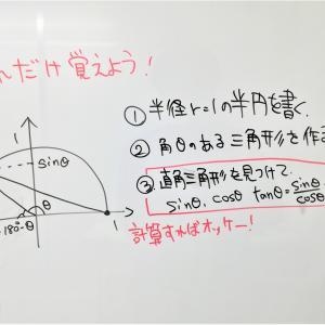 <とにかく暗記が苦手な生徒向けの三角比の数学指導!>