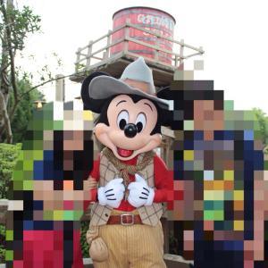 香港ディズニーランドレポ グリズリーガルチで出会ったミッキーマウス