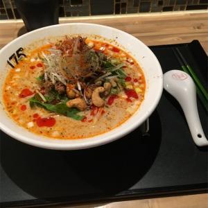 冷し汁あり担担麺@175°DENO〜担担麺〜 札幌北口店 2019ラーメン#56