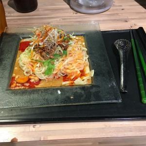冷し汁なし担担麺@175°DENO〜担担麺〜 札幌北口店  2019ラーメン#69