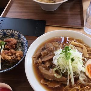 肉そば(醤油)@大衆食堂 中華そばとおコメの店 メシケン。 2019ラーメン#73