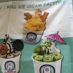 Cookie Monster@ロールアイスクリームファクトリー ~大丸札幌店 冬のアイス&スイーツフェアより