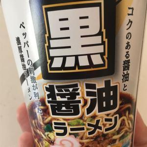 黒醤油ラーメン@セイコーマート