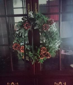 ナチュラルクリスマスリース
