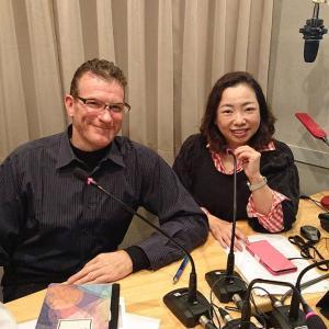 収録「東京オアシス」ゲスト ミケーレ マルコリーンさん 木山インタビュー