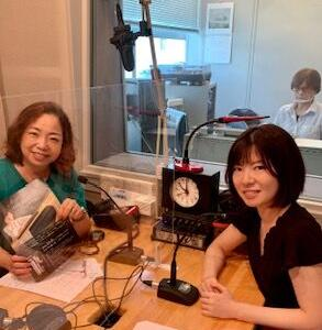 今夜8/20放送 調布FM「東京オアシス」ハーピスト山宮るり子さん  木山インタビュー