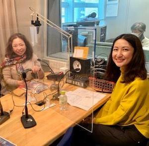 収録 調布FM「東京オアシス」ゲスト 瀬﨑明日香さん 木山インタビュー