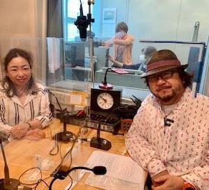 6/10放送 調布FM「東京オアシス」吉田 敦さん 木山インタビュー