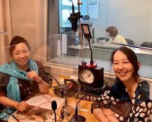 7/22放送 調布FM「東京オアシス」下山静香さん 木山インタビュー