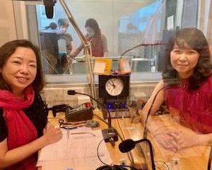 今夜8/12放送 調布FM「東京オアシス」ゲスト   ピアニスト宮谷理香さん。木山インタビュー