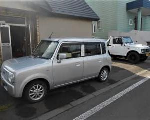 妻用の軽自動車を入れ替え(北海道)
