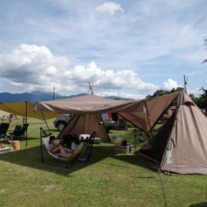 10月キャンプ!は裾野でした・・・。