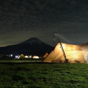11月キャンプ!はじめてのまきちゃんとはじめてのおじちゃん・・・