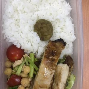 今日のお弁当は鶏の塩麹焼き 夕ご飯は肉豆腐