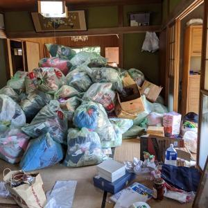 空き家に残された遺品整理と残置物撤去2日目@市原市古家