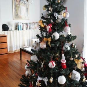 クリスマスツリー&今日のおやつはプリン♪