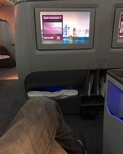 カタール航空 ビジネスクラス搭乗記 成田~ドーハ クロアチアザグレブへの旅 その2