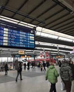 ミュンヘン空港 ブリティッシュエアウェイズラウンジを探す クロアチアザグレブへの旅 その8