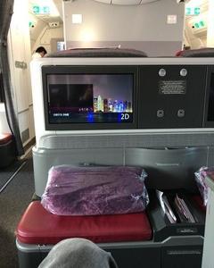 カタール航空 ドーハ~ミュンヘン ビジネスクラス搭乗記  クロアチアザグレブへの旅 その4