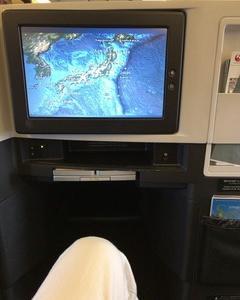 国内線をクラスJにアップグレードしたら、フルフラットだった。 JAL ビジネスクラス マイアミへの道 その1
