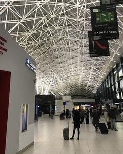 がらーんとした早朝のザグレブ空港 そしてラウンジへ クロアチアザグレブへの旅 その6