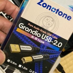 オーディオ・ケーブルの話@Zonotone Grande USB-2.0