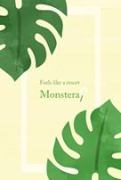 第39弾☆LINE着せ替え承認♪@ Feels like a resort, Monstera 販売開始☆