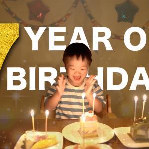 7歳の誕生日を迎えました いつも応援していただきありがとうございます