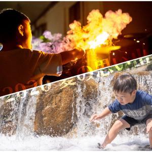 夏の思い出 川遊びに花火 早くも夏休み終了!